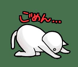 lethargic cat sticker #2082034