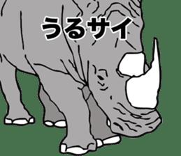Rhino sticker #2083026