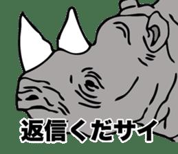 Rhino sticker #2083035