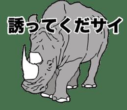 Rhino sticker #2083044
