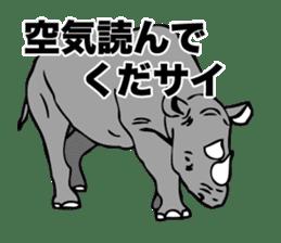 Rhino sticker #2083046