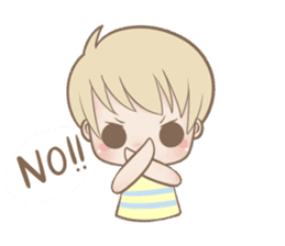 Innocent Boy sticker #2083786