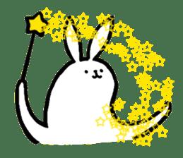 rabbit with beautiful legs 2 sticker #2084245
