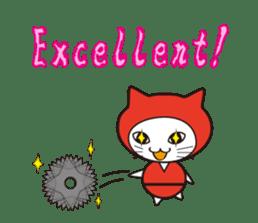 Nyanja English(ninja cat) sticker #2084584