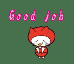 Nyanja English(ninja cat) sticker #2084587