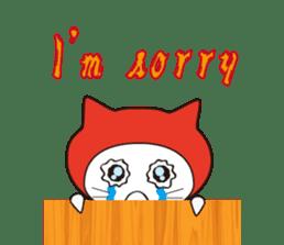 Nyanja English(ninja cat) sticker #2084589
