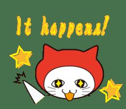 Nyanja English(ninja cat) sticker #2084594