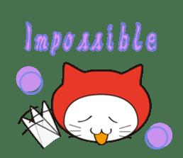 Nyanja English(ninja cat) sticker #2084595