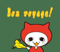 Nyanja English(ninja cat) sticker #2084596