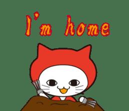 Nyanja English(ninja cat) sticker #2084597