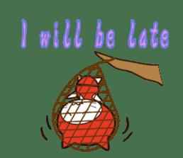 Nyanja English(ninja cat) sticker #2084604