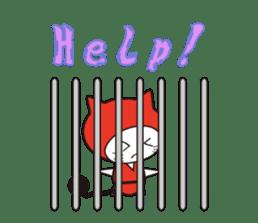 Nyanja English(ninja cat) sticker #2084606