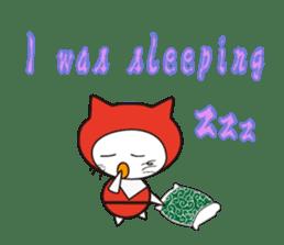 Nyanja English(ninja cat) sticker #2084607