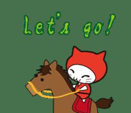 Nyanja English(ninja cat) sticker #2084610