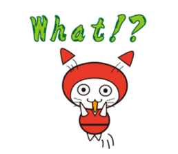 Nyanja English(ninja cat) sticker #2084612