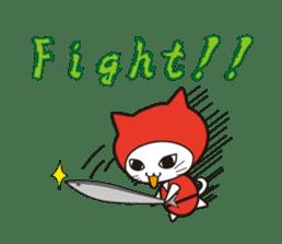 Nyanja English(ninja cat) sticker #2084615