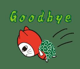 Nyanja English(ninja cat) sticker #2084620