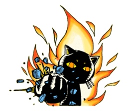 The kitty masker sticker #2084910