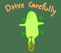 Mr.Green & Friend sticker #2085437
