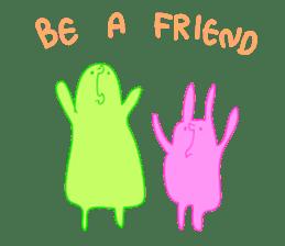 Mr.Green & Friend sticker #2085444