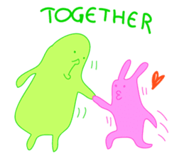 Mr.Green & Friend sticker #2085447