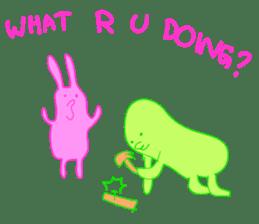 Mr.Green & Friend sticker #2085458