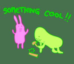 Mr.Green & Friend sticker #2085459