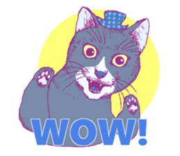 POP MEOW sticker #2085795