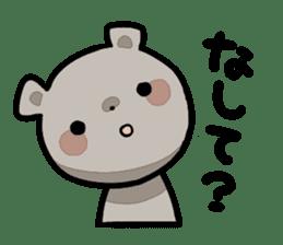 Bear&Salmon sticker #2085836
