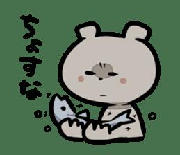 Bear&Salmon sticker #2085844