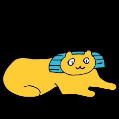 SMALL ANIMALS, CATS STICKER