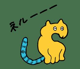 SMALL ANIMALS, CATS STICKER sticker #2086665