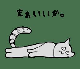 SMALL ANIMALS, CATS STICKER sticker #2086686