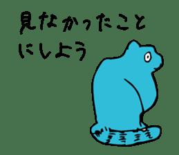 SMALL ANIMALS, CATS STICKER sticker #2086689