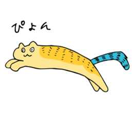 SMALL ANIMALS, CATS STICKER sticker #2086696