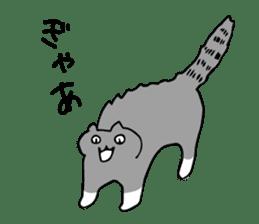 SMALL ANIMALS, CATS STICKER sticker #2086699