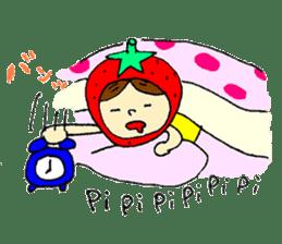 strawberry girl ICHIKO sticker #2086822