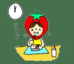 strawberry girl ICHIKO sticker #2086828