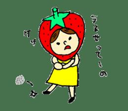 strawberry girl ICHIKO sticker #2086833
