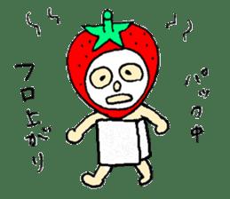 strawberry girl ICHIKO sticker #2086851
