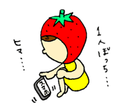 strawberry girl ICHIKO sticker #2086853