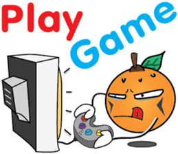 Little Orange Activities (English) sticker #2086954
