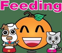 Little Orange Activities (English) sticker #2086971