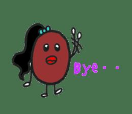 Little Miss Bean ! sticker #2087507