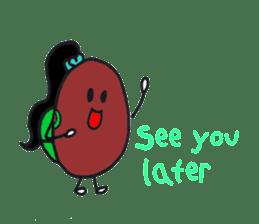 Little Miss Bean ! sticker #2087509