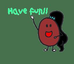 Little Miss Bean ! sticker #2087510