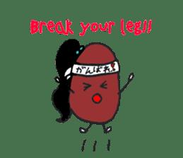 Little Miss Bean ! sticker #2087514