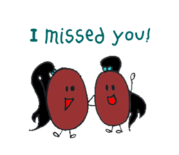 Little Miss Bean ! sticker #2087526