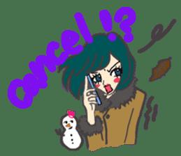 Keykey and fuwari  (english) sticker #2087989