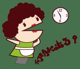 Puppet family-Mom- sticker #2090206